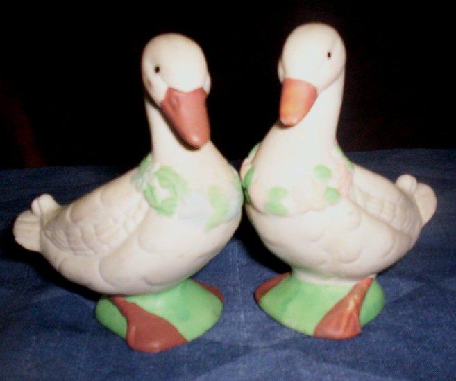 Vintage Salt and Pepper Shakers, Ducks