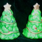 Christmas Tree Salt and Pepper Shakers