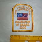 Long Island National Cemetery Decoration of Graves Patch 2000