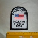 Long Island National Cemetery Decoration of Graves Patch 2005