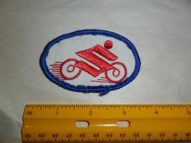 Vintage Suzuki Embroidered Patch