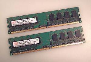RAM - HYNIX 2x1GB HYMP112U64CP8-S6 AB-C
