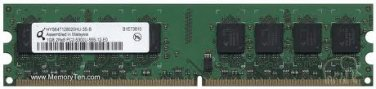 RAM - Qimonda 1GB HYS64T128020HU-3S-B