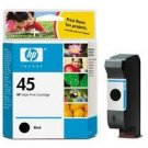 Hewlett Packard - HP 45, 51645A Black Ink Cartridge