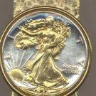 Walking Liberty Half Dollar Coin Money Clip