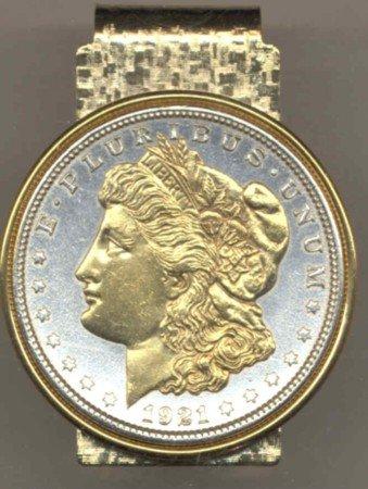 Morgan Silver Dollar Coin Money Clip  LAYAWAY