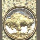 Buffalo Nickle Coin Money Clip