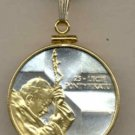 Pope John Paul II Coin Necklace  Poland