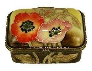Otagirl Japan* Royal Garden-Hummingbird.. Trinket.Box