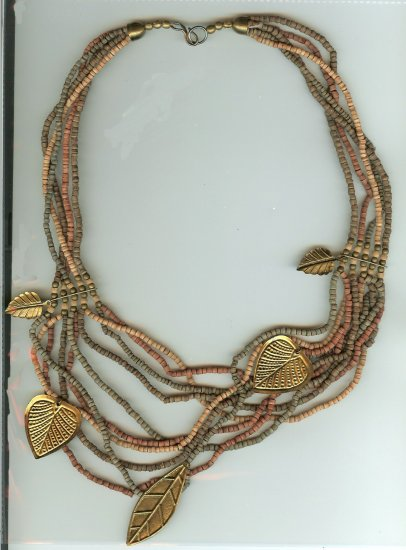 Heishe Boho Necklace - Great Look for Fall