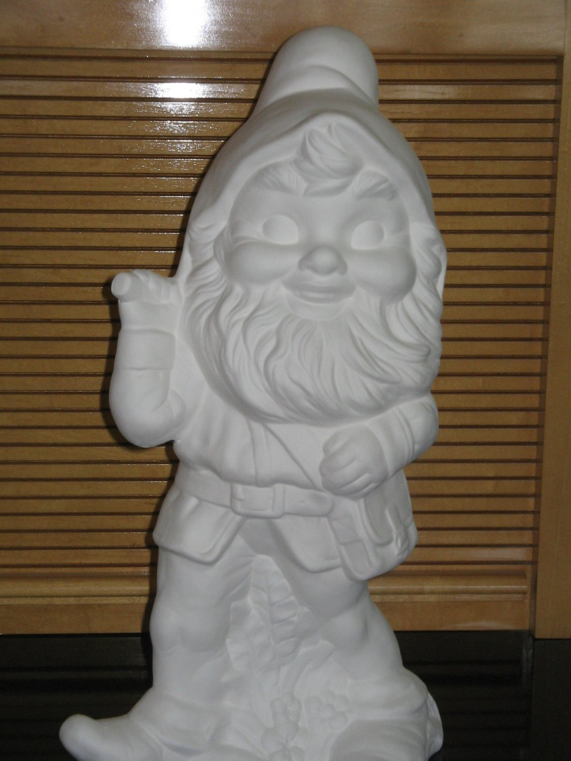 U Paint Ceramic Garden Gnome With Pick Bisque Ready To