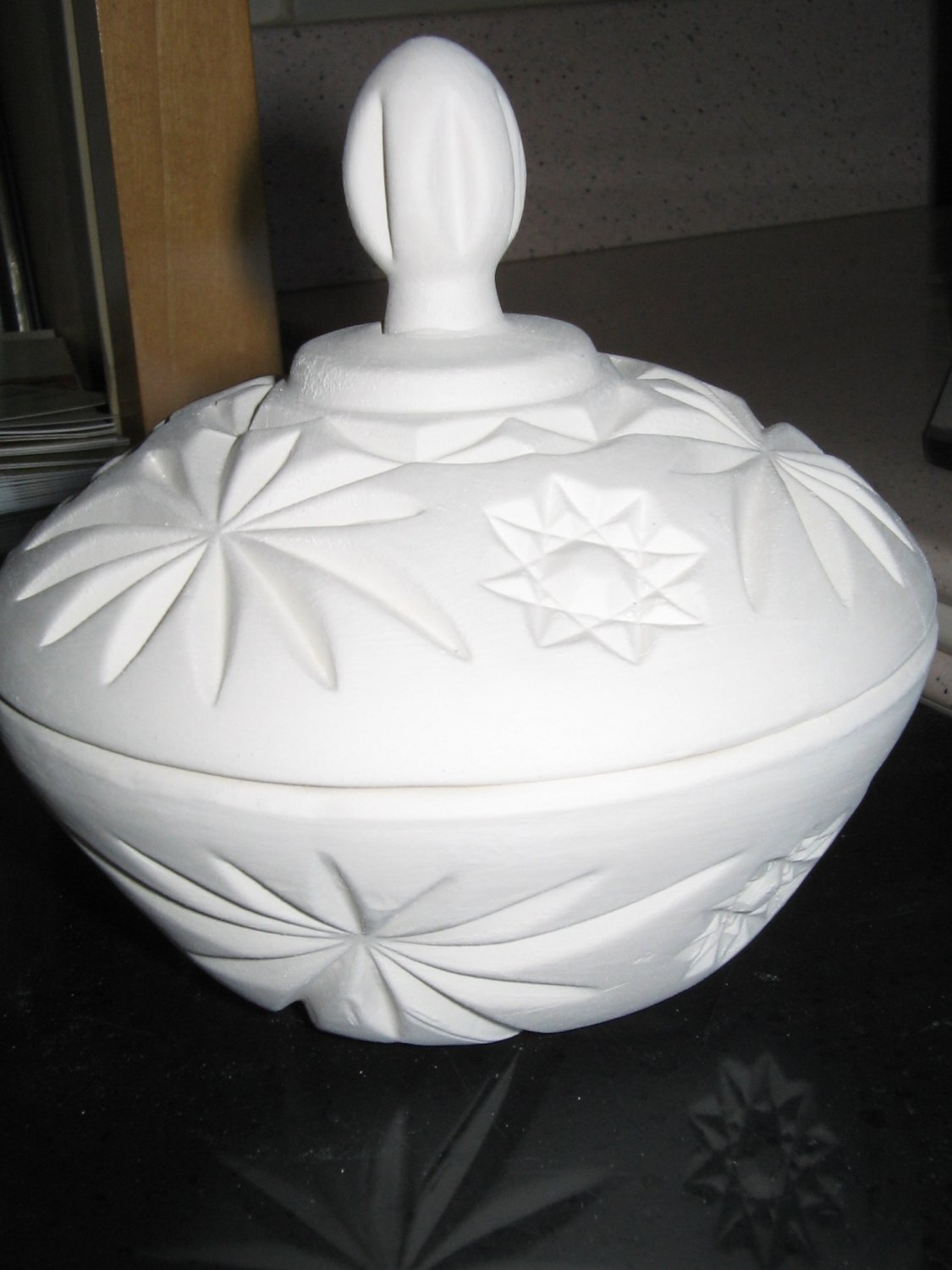Ready To Paint Candy Dish U Paint Ceramic Bisque