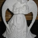 Ready To Paint Angel With Baby Ceramic Bisque U Paint Holiday Angel