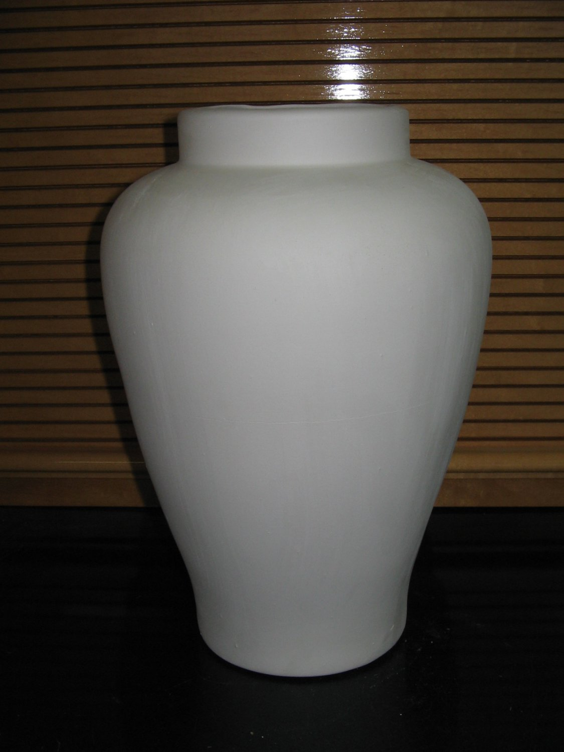 Ready To Paint Large Ming Vase U Paint Ceramic Bisque