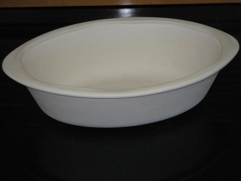 Ceramic bisque casserole dish ready to paint u paint ceramics for Bisque ceramic craft stores