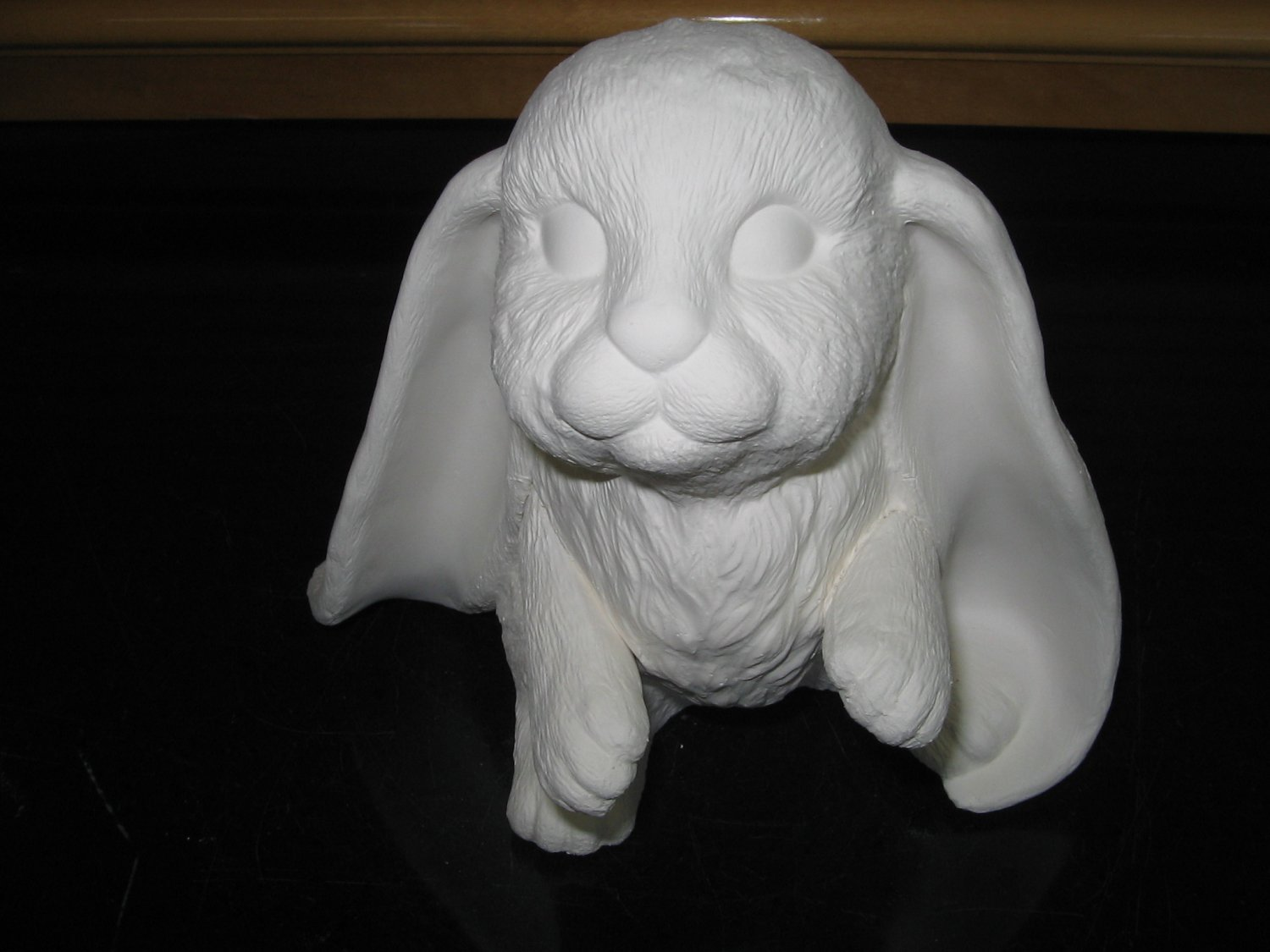 U Paint Ceramic Lop Ear Bunny Bisque Ready To Paint