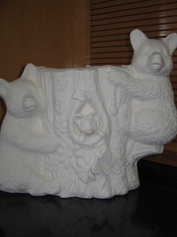 Bear Planter Ready To Paint Bears Flower Pot U Paint Ceramic Bisque