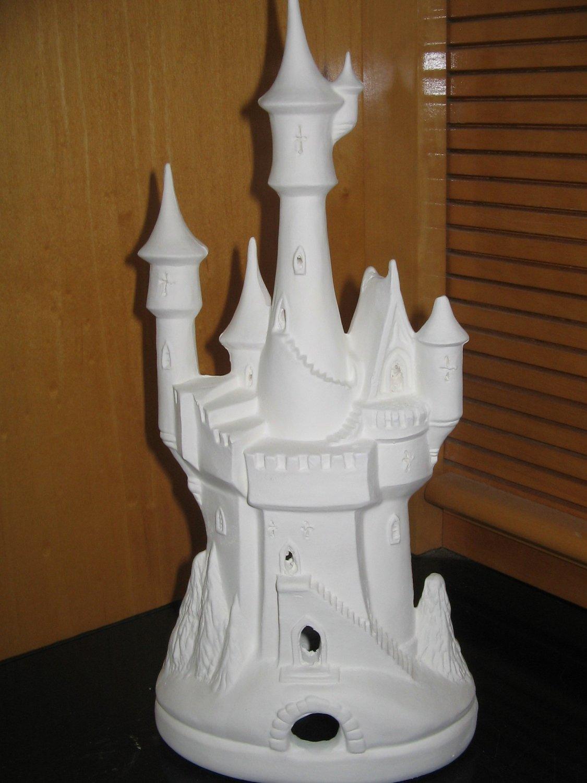 U Paint Winter Castle Ready To Paint Ceramics Ceramic Bisque
