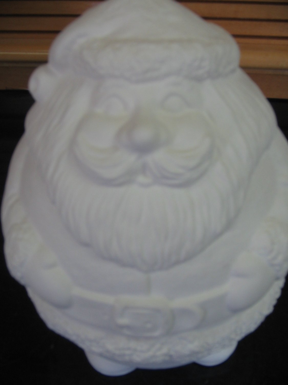 Ceramic Bisque Nesting Santa's U Paint Ready To Paint Santa
