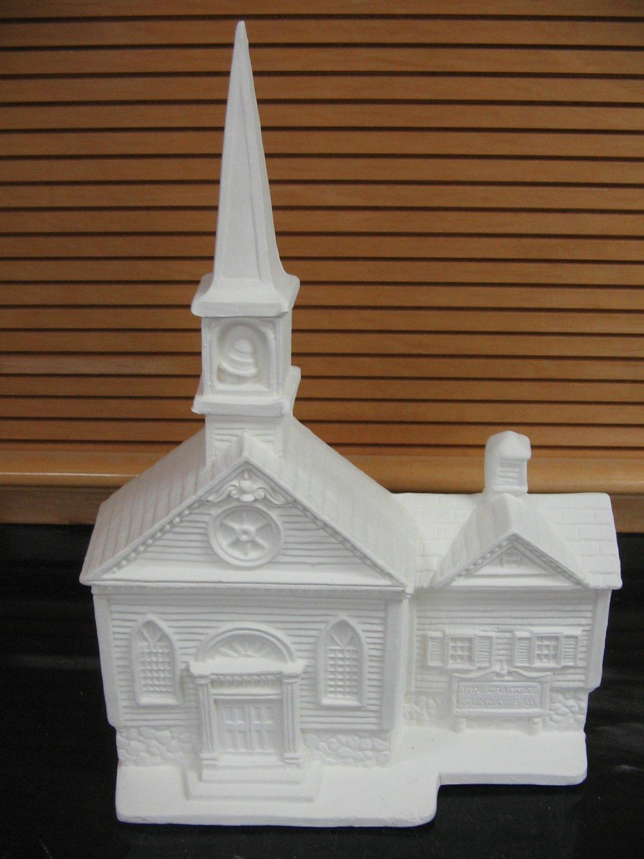 Ready To Paint Ceramic Church Bisque U Paint Ceramics