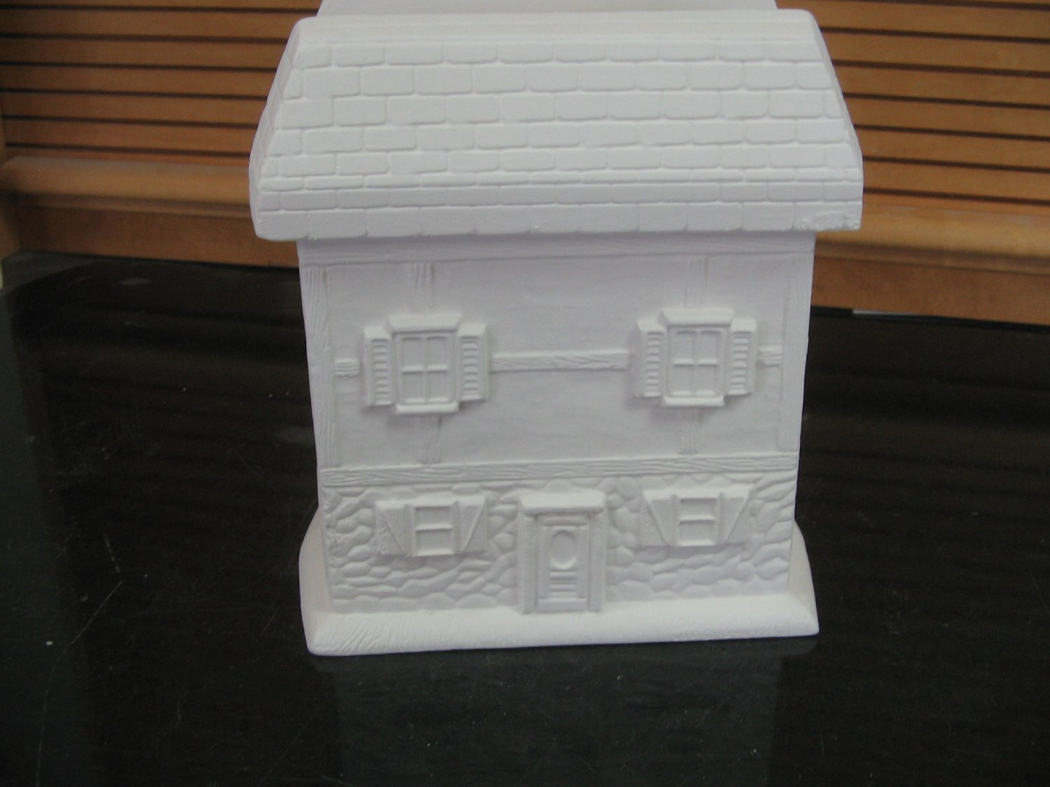 House Napkin Holder Ready To Paint Ceramics U Paint Ceramic Bisque