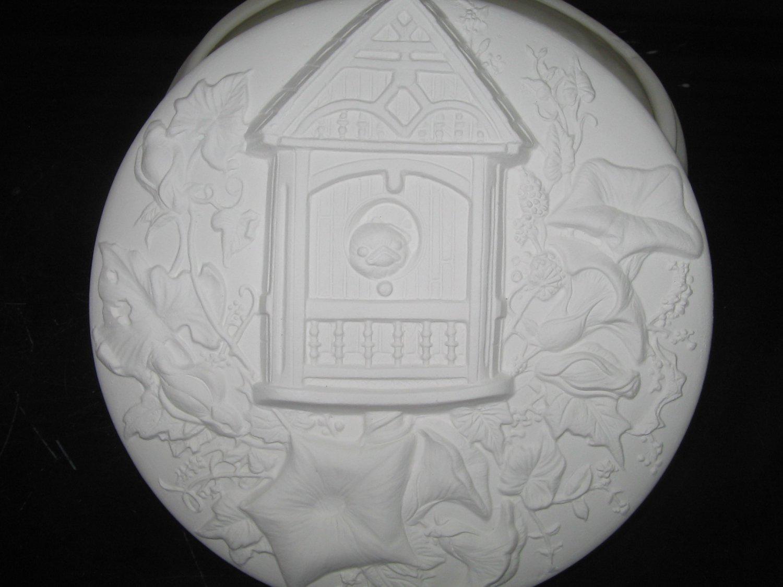 Bird House Trinket Box Ceramic Bisque Ready To Paint Ceramics U Paint Birds
