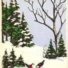 Vintage Christmas Card - A2