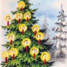 Vintage Christmas Card  - A3