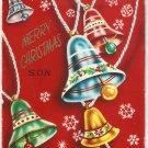 Vintage Christmas Card  - A4