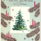 Vintage Christmas Card  - A9