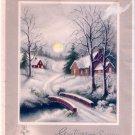Vintage Christmas Card  - A11