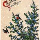 Vintage Christmas Card  - A14