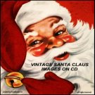 Santa Claus Vintage Christmas Images On CD