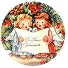 Pretty Little Angels Vintage Christmas Images On CD