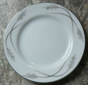 "Mikasa Grace-ine 2 BREAD and BUTTER Plates 6 3/8"" Graceine"