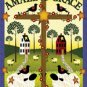 Garden Flag AMAZING GRACE cross crows sheep 12 x 18 FREE SHIPPING