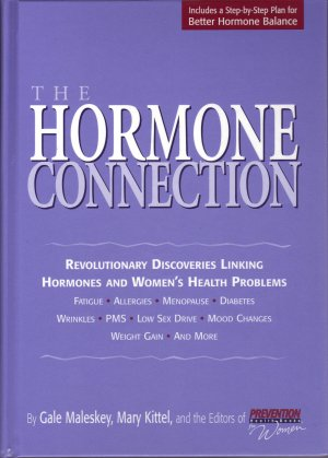The Hormone Connection by Rodale Prevention Women's Health Books FREE SHIPPING
