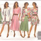 COMPLETE WARDROBE Jacket, Top, Skirt, Shorts EASY 12 14 16 Butterick 6164 free shipping
