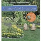 Better Homes Gardens Step by step Ultimate Yard Garden FREE SHIPPING