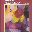 Social Psychology 7th edition Sears Peplau textbook