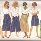 Misses' Skirt Shorts Culottes & Pants 12 14 16 Butterick 4872  FREE SHIPPING