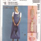 Misses' Shift Jumper Tote bag sewing pattern McCall's 2669 Woman's Day FREE SHIPPING