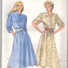Vintage Sewing pattern DRESS 8 -12 Butterick 5587 UNCUT Free Shipping