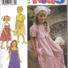 Sewing Pattern Girls Summer DRESS Style 2816 Uncut 4 -9