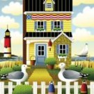 Garden Flag By the Seashore 12 x 18 Lighthouse birds NEW