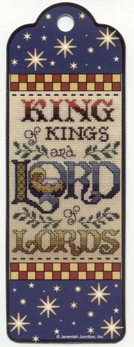 Bible Bookmark KING of KINGS and LORD of LORDS