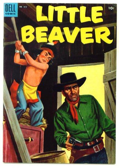 LITTLE BEAVER Dell Comics 1954 Four Color #612 Western