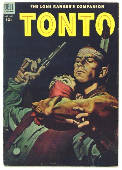 TONTO The Lone Ranger's Companion #16 Dell Comics 1954