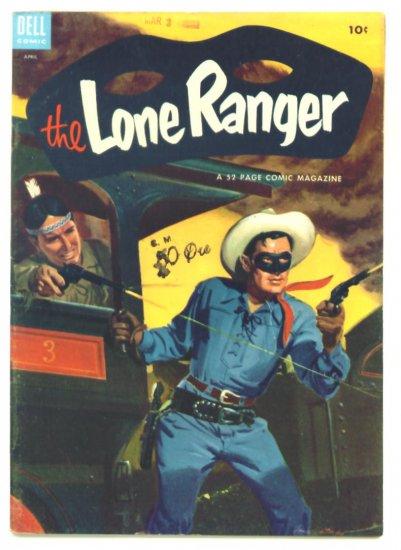 The LONE RANGER #70 Dell Comics 1954