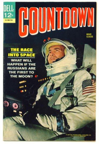 COUNTDOWN Dell Comics 1967 Movie Classic James Caan